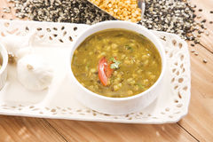 Yellow Gram & Split Black Lentils Curry Royalty Free Stock Image