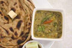 Yellow Gram & Split Black Lentils Curry Stock Image