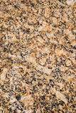 Yellow granite Stock Image