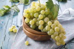 Yellow grapes Royalty Free Stock Photos