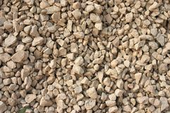 Yellow gravel background Royalty Free Stock Image