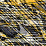 Yellow and gray abstract objects beautiful background vector illustration Royalty Free Stock Photos