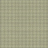 Yellow and Gray Woven Background. Repeated braiding of horizontal and vertical stripes creates a 3-D basket weave woven pattern in gray and black on pale yellow Stock Photo