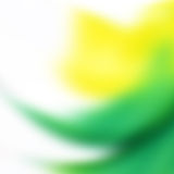 Yellow and Green abstract Royalty Free Stock Images