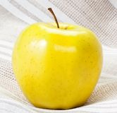 Yellow Green Apple Royalty Free Stock Photos