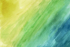Yellow-green-blue grunge Royalty Free Stock Images