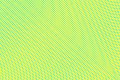 Yellow green color halftone vector background. Smooth halftone texture. Diagonal dotwork gradient. Vibrant dotted halftone surface. Retro halftone overlay royalty free stock photo