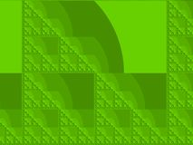 Yellow green fractal background Royalty Free Stock Image