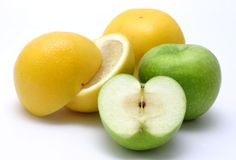 Yellow and Green Fruits Royalty Free Stock Image