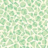 Vector seamless geometric pattern with shapes royalty free illustration