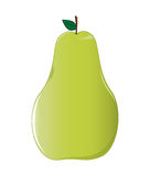 Yellow Green Pear Stock Photos