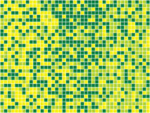 Yellow and Green Seamless Mosaic. Royalty Free Stock Photos