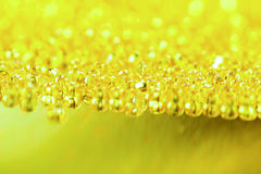 Yellow - green shine abstract background Royalty Free Stock Photography