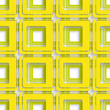 Yellow and Green square abstract Stock Images