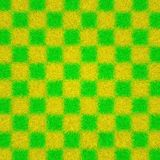 Yellow a green texture of wool Royalty Free Stock Photos