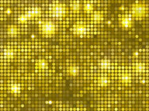 Horizontal yellow green mosaic Royalty Free Stock Images