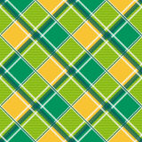 Yellow Green White Diamond Chessboard Background Royalty Free Stock Photo
