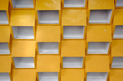 Yellow grid background Royalty Free Stock Photo