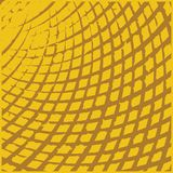 Yellow Grid Grunge Texture Stock Image