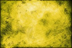 Yellow grunge background Stock Image