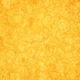 Yellow grunge background Stock Photography