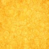 Yellow grunge background Stock Photography