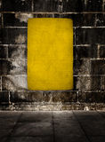 Yellow grunge background Royalty Free Stock Image