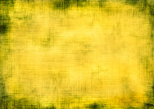 Yellow grunge background Royalty Free Stock Photos