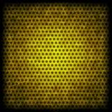 Yellow grunge background of circle pattern Stock Photo