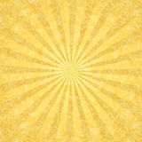 Yellow grunge background with rays Royalty Free Stock Images