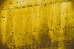 Yellow grunge dirt metal texture. Or background royalty free stock photos