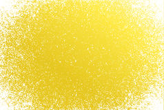 Yellow Grunge pattern frame background Stock Images