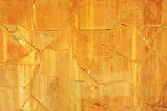 Yellow grunge stones background Stock Photography
