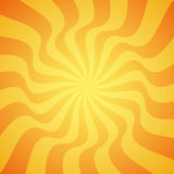 Yellow grunge sunbeam background. Sun rays abstract wallpaper. Surface pattern design with symmetrical lines ornament. Royalty Free Stock Image