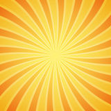 Yellow grunge sunbeam background. Sun rays abstract wallpaper. Surface pattern design with symmetrical lines ornament. Royalty Free Stock Images
