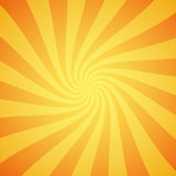 Yellow grunge sunbeam background. Sun rays abstract wallpaper. Surface pattern design with symmetrical lines ornament. Stock Photo