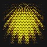 Yellow grunge sunbeams Royalty Free Stock Images