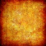Yellow grunge textured abstract background Royalty Free Stock Photos