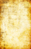 Yellow grunge textured abstract background royalty free illustration