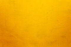 Yellow grunge wall Royalty Free Stock Photo