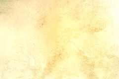 Yellow grungy scratched texture Stock Images