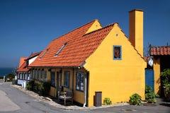 Free Yellow Half-timbered House On Bornholm Stock Photo - 31785780