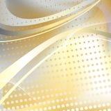 Yellow halftone pattern Royalty Free Stock Photography