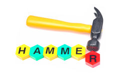 Yellow hammer Stock Photography