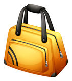 A yellow handbag Stock Photos