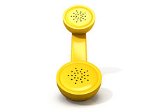 Yellow Handset Royalty Free Stock Photos