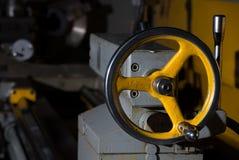 Yellow hanwheel Royalty Free Stock Photos