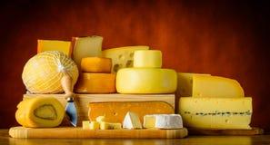 Yellow Hard Cheese Stock Photography