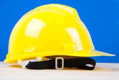 yellow hard hat Royalty Free Stock Images