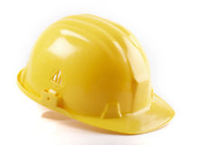 yellow hard hat Royalty Free Stock Photos